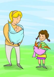 immagine personaggi letture ad alta voce su portare i bambini