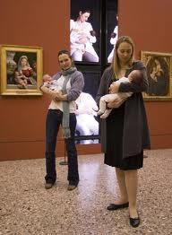 latte materno allattamento al museo