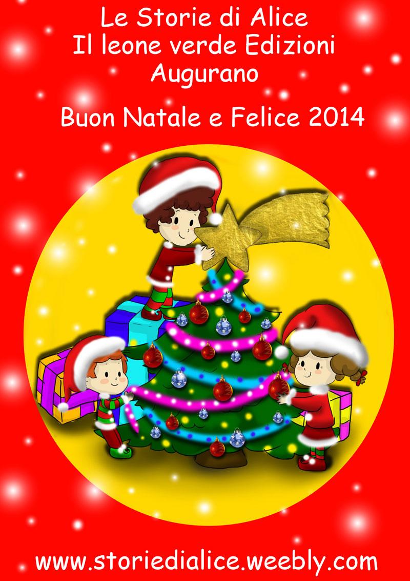 Buon Natale Con Gli Addobbi E Il Nuovo Libro Illustrato Di Alice