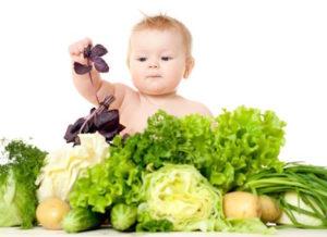 Influenza: prevenzione dei bambini con frutta e verdura stagione