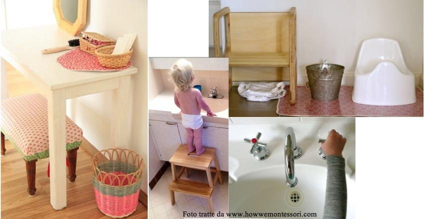Un bagno di autonomia bagno montessori misura di bambino