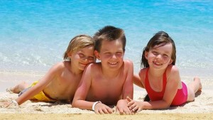 salute bambini al mare
