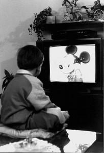 bambino e televisione