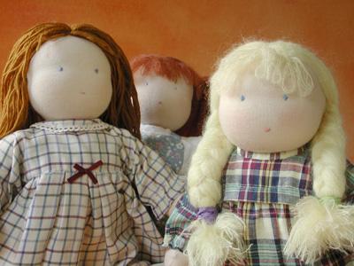 bambole fai da te