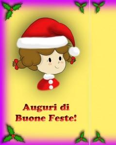 Natale con i bambini e i biglietti di auguri di Alice!