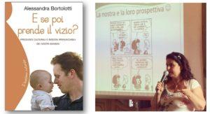Alessandra Bortolotti alla fiera di Chiari per parlare di educazione affettiva e salute dei bambini
