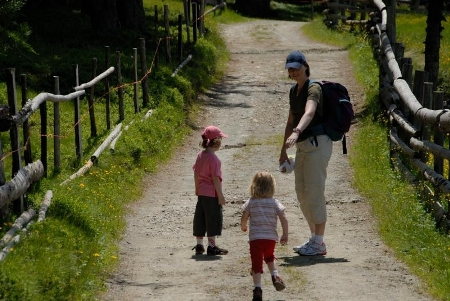 Camminare con i bambini è condividere