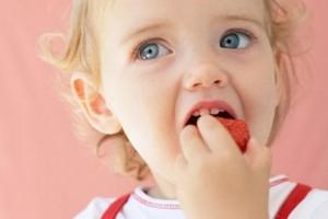 Cibo e bambini, il gusto