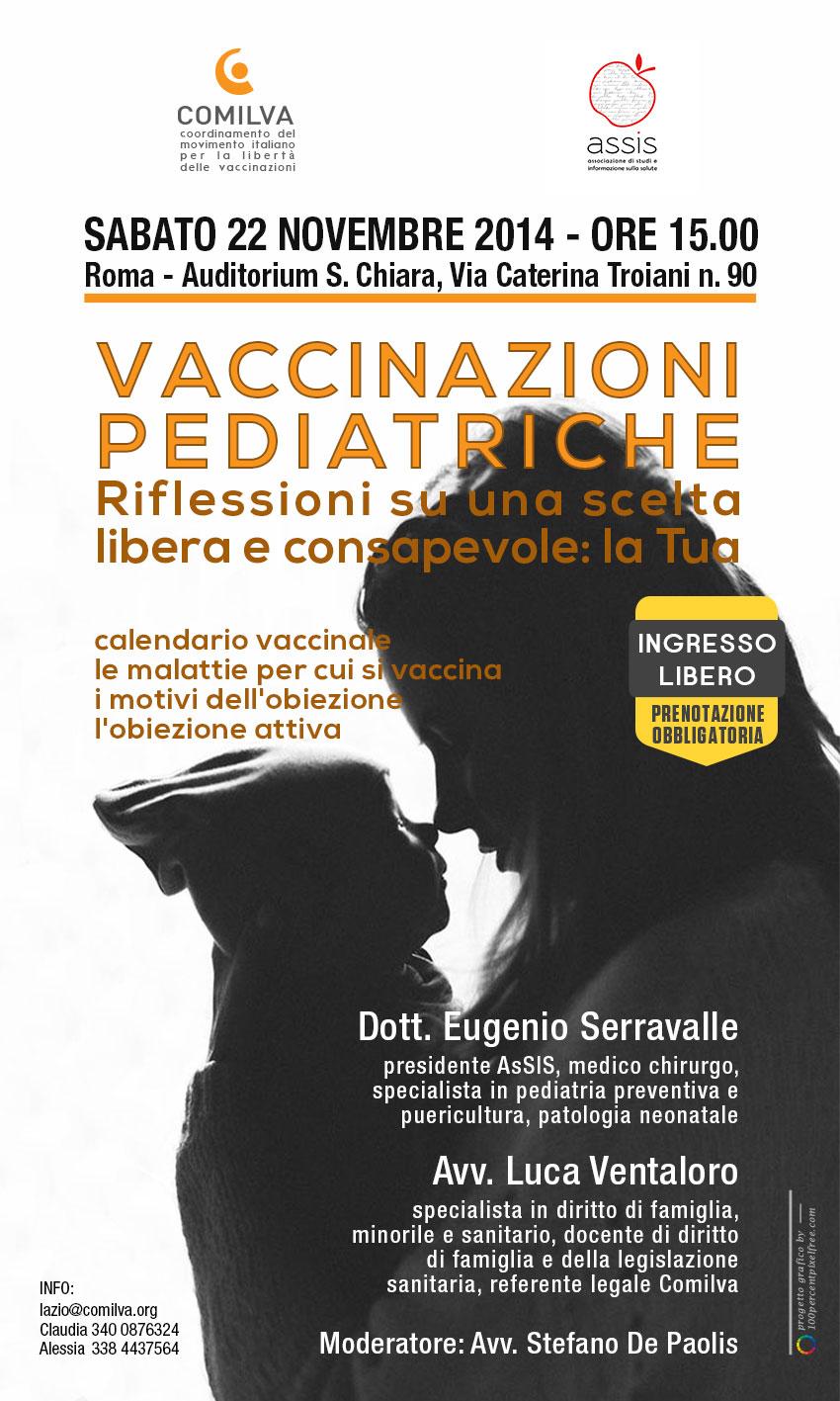 Vaccinazioni dei bambini, due convegni con il dottor Serravalle