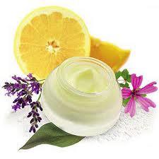 crema e limone per bellezza naturale