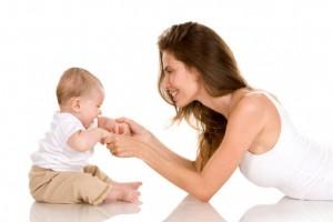 crescere bambini mamma e figlio