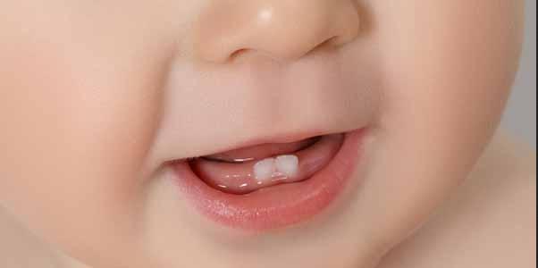 Il sorriso del bambino piccolissimo