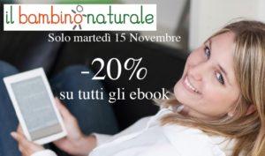 Martedì 15 novembre -20% su tutti i nostri ebook!