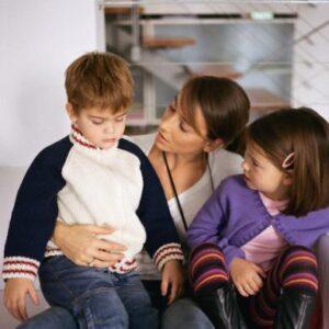 Educare il bambino è come togliere la polvere