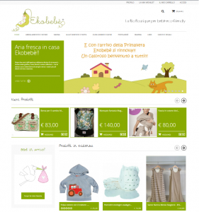eshop abbigliamento online per bambino naturale