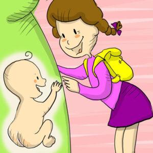 Il libro illustrato sul fratellino in arrivo per il tuo bambino