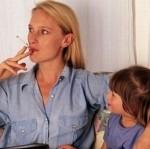 salute bambini fumo domestico