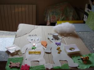 Giochi per bambini con il riciclo della carta
