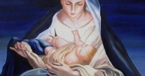 la maternità nella Natività: il binomio mamma e bambino