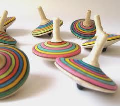 giocattoli bambini trottole