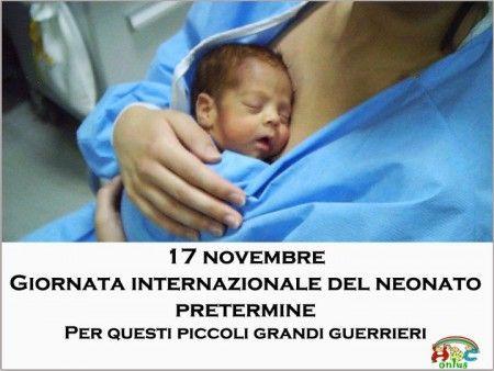 Giornata del bambino prematuro