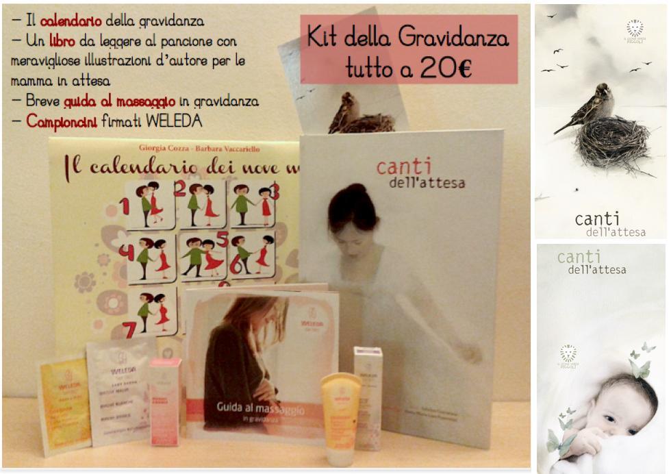 Il nuovo Kit della Gravidanza per la mamma in dolce attesa