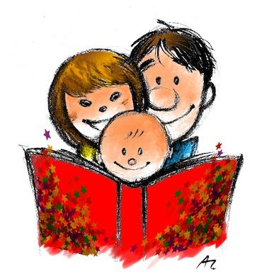 Risultato immagini per racconta storie bambini disegno