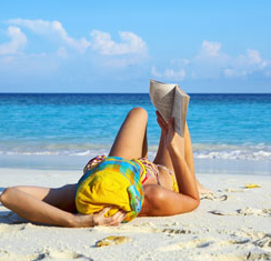 donna legge libri estate in promozione
