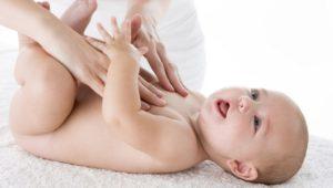 Massaggio infantile e svezzamento