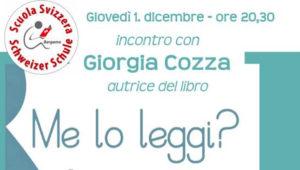 Bergamo, doppio incontro con Giorgia Cozza dedicato alla lettura condivisa