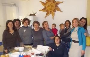 foto gruppo difesa allattamento al seno con moizza