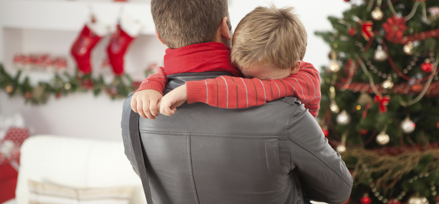 genitori separati natale