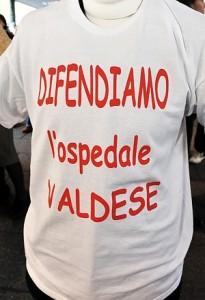ospedale valdese maglietta protesta