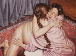 ostetrica privata che aiuta in un parto naturale