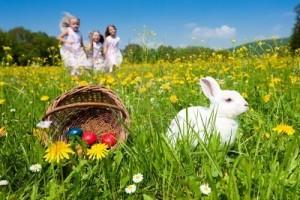 Pasqua con i bambini: caccia alle uova e torta pasqualina