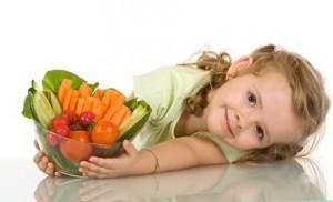 verdure per ricette bambini vegani