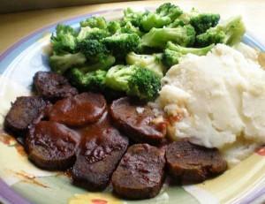 ricette vegan seitan broccoli puré