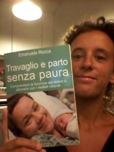 libro e autrice parto naturale