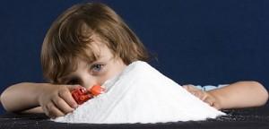 salute bambini troppo sale