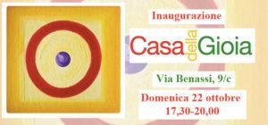 Elena Balsamo all'inaugurazione spazio CASAdellaGIOIA!