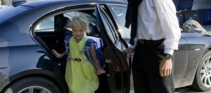 accompagnare bambini a scuola in macchina