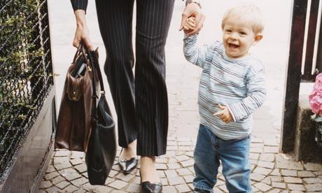 La separazione tra mamma e bambino quando si rientra al lavoro