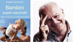 libro e autore su vaccinazioni bambini