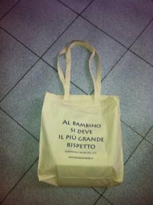 shopper personalizzata in regalo