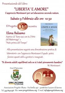 Il libro sull'educazione Montessori in provincia di Bologna